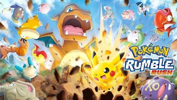 لعبة POKEMON Rumble Rush