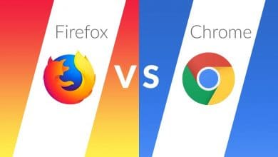 firefox يحتل الصدارة امام google chrome